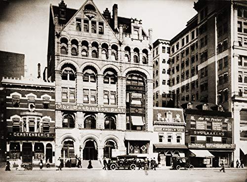 Preisvergleich Produktbild The Washington Post Building In Washington Poster Print (91, 44 x 60, 96 cm)