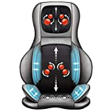 Comfier Shiatsu Neck & Back Massager – 2D/3D Kneading Full Back Massager with Heat & Adjustable Air Compress, Massage Chair Pad for Shoulder Neck and Back Waist Hips,Full Body