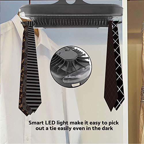 Corbatero El/éctrico con Luz para hasta 72 Corbatas