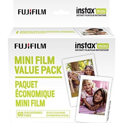 Fujifilm Instax Mini Instant Film Value Pack - 60 Photos