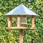 Voss.garden Birdhouse   Original Danish Design   Made From Spruce   Weather-Resistant   Round Roof