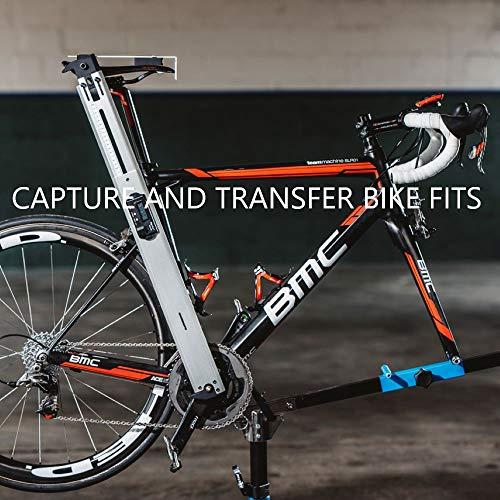 VeloAngle Bike Fit Werkzeug misst und Transfers Position von Sattel, Lenker, Tretlager, und mehr