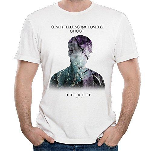T&Tat Men's Oliver Heldens Ghost Short Sleeve T-Shirt