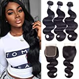 Best Grade Of Human Hair Weaves - Amella Hair Brazilian Body Wave with Closure Review