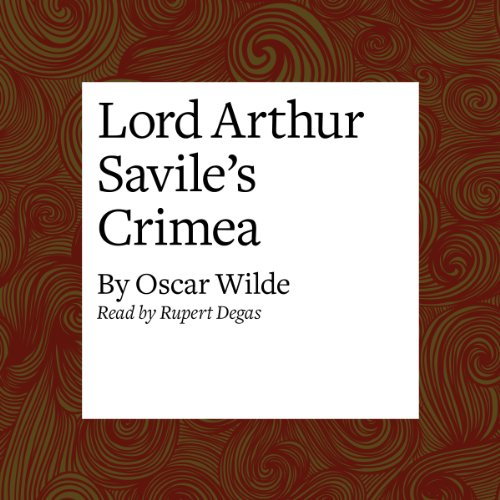 Lord Arthur Savile's Crime audiobook cover art