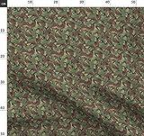 Schuppen, Britisch, Tarnfarbe Stoffe - Individuell Bedruckt