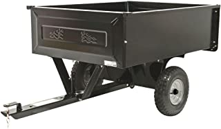 10 cu. ft. Steel Dump Cart with Pneumatic Tires and Removable Tailgate