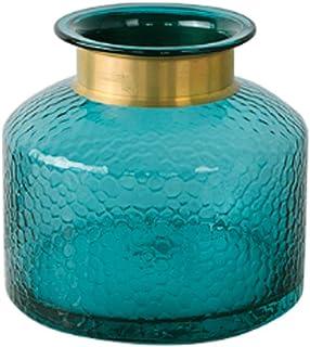 Blue Transparent Flowers Flower Arrangement Hydroponic Home Decoration Crafts Motivationcreative Simplicity Vase Glass Gla...