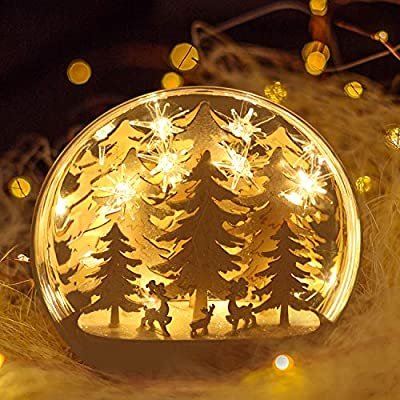 Snowflake Night Light for Bedroom Party Wedding Decoration