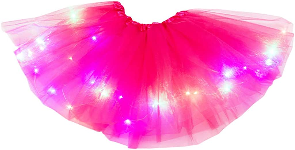 Jiusike Women Multicolor 3 Layered Fairy Tutu Skirt Pleated Mesh Tulle Princess Skirt Bubble Skirt Adult Dancing Gown