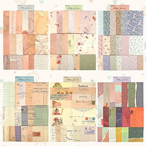 Bluelves Adesivi per Scrapbooking, 360 Pezzi Carta Scrapbooking, per Scrapbooking Accessori Carta Decorativi Decorazione DIY Carte Decorative Carte Creative Papers
