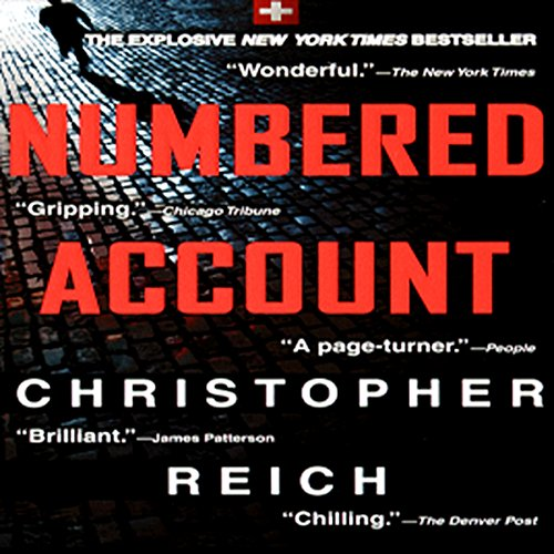 Numbered Account audiobook cover art