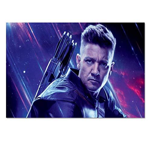 ZOEOPR Plakat Jeremy Renner Tv-Filmschauspieler Und Sänger Plakat Wandkunst Gemälde Nordische Plakate Und Drucke Moderne Wohnkultur 50 * 70Cm No Frame