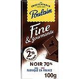 Découvre Poulain Ligne Gourmande Chocolat Noir sans sucre ajoutés Le chocolat Poulain est fabriqué en France sans gélatine animale, sans huile de palme, sans arachide, sans colorant et seulement avec des arômes naturels. Il convient au régime végétar...