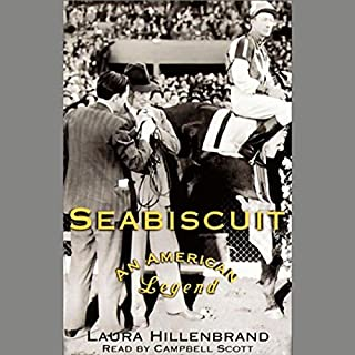 Seabiscuit audiobook cover art
