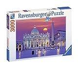 Ravensburger Puzzle 3000 Pezzi, Basilica di San Pietro - Roma, Puzzle da Adulti, Relax, Monumenti Italiani, Stampa di Alta Qualità, Jigsaw Puzzle, Dimensioni 121x80 cm