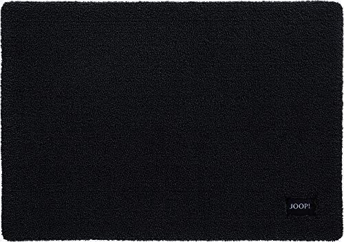 Joop! Badteppich Basic Schwarz - 015 60x90 cm