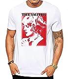 The Smiths Sheila Take A Bow Men's Fashion Quality Heavyweight T-Shirt_1860 White 3XL