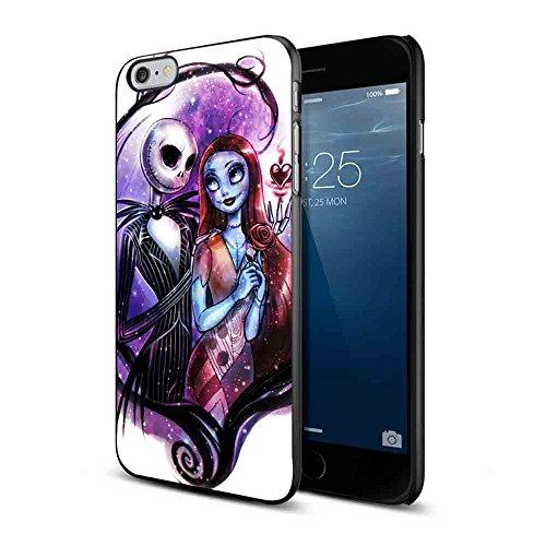 Nightmare Before Christmas Jack and Sally - Carcasa para iPhone y Samsung Galaxy