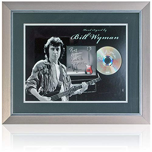 Bill Wyman Back to Basics płyta CD prezentacja ręcznie podpisany przez Billa Wymana AFTAL COA