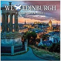 2021 壁カレンダー We Love Edinburgh プランナー カラム小さい コンパクト