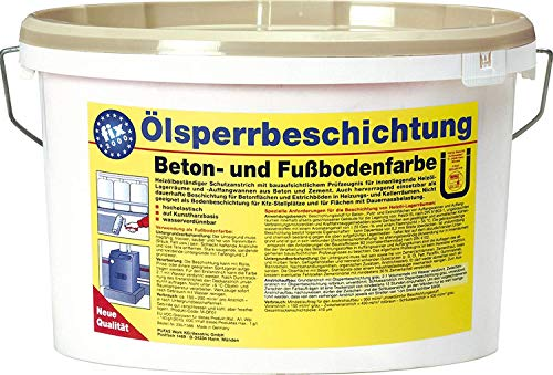 Pufas fix 2000 Ölsperrbeschichtung Beton- und Fussbodenfarbe 5,000 L