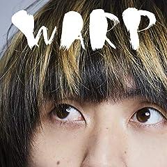 tricot「WARP」の歌詞を収録したCDジャケット画像