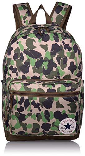 Converse Unisex-Erwachsene Go 2 Backpack Rucksack, Camo/Surplus Olive, Einheitsgröße