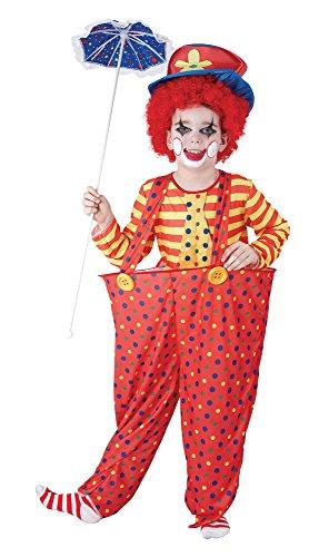 Bristol Novelty CC856 Clown Kostüm