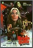 Eryan 7 puertas de la muerte The Beyond Movie 1981 Lucio Fulci Cartel de horror de Lucio Fulci y estampados Arte de la pared Dormitorio 20X28 Inchx1 Sin marco