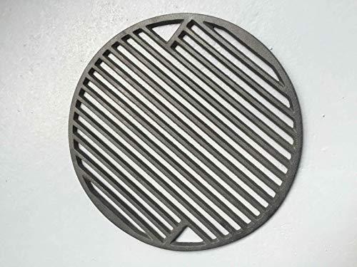 YNNI KAMADO TQZW15 - Parrilla redonda de hierro fundido para barbacoa (34 cm, 3 kg)