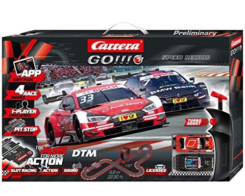 Carrera GO!!! PLUS DTM Speed Record 20066009 Autorennbahn Set