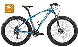 Torpado bici mtb jupiter 27,5'' plus alu 3x10v disco taglia 40 azzurro (MTB Ammortizzate) / bicycle mtb jupiter 27,5'' plus alu 3x10s disc size 40 light blue (MTB Front suspension)