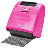 Plus Guard Your ID Wide Roller Stamp, Pink