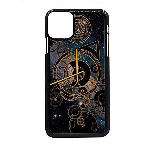 Gogh Yeah Conchas De Plástico Rígido Protector Impresión Clock Wheel para Mujeres Compatible con iPhone 12Pro Choose Design 136-3