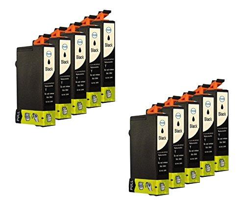 10 Druckerpatronen für Epson Schwarz mit Chip Epson Stylus SX218 Stylus SX417 SX510 DX 4400 DX6000 DX7400 SX 200 DX4000 SX210 D78 DX4000 DX4050 DX5050 DX6000 DX6050 DX7000F DX5000 DX4400 D92 SX515W D120 DX8400 DX7400 DX7450 DX8450 DX9400FS DX4450 SX205 SX415 SX215 SX110 SX400 S20 Office BX310FN OfficeBX300F SX210 SX400 Wifi Office B40W SX115 SX100 SX600FW Office BX600FW SX105 SX405 SX200 DX8400 SX400 SX100 SX405 S21 DX9200 SX410 DX5000 Stylus Office BX610FW Stylus DX 5500 ersetzt Epson T0711BK