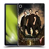 Head Case Designs Officially Licensed Supernatural Sam, Dean & Castiel 2 Key Art Soft Gel Case Compatible with Samsung Galaxy Tab S6 Lite