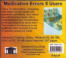 Medication Errors, 5 Users