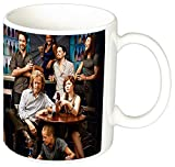 Shameless Emmy Rossum William H Macy Taza Ceramica
