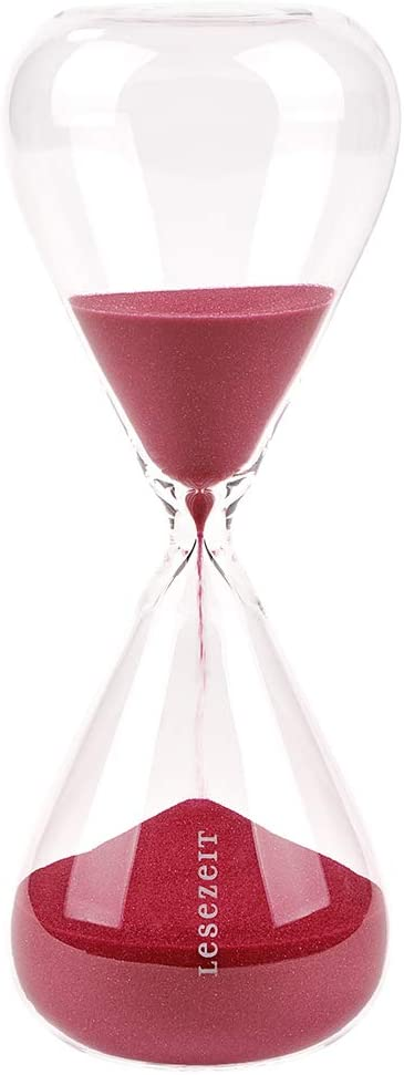 Moses libri_x Regular store overseas Reading Hourglass with Time 30 Minutes Run Decor