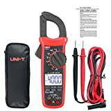 UNI-T UT201+ Digital Clamp Multimeter True RMS Clamp Meter DC/AC Current Voltage Meter NCV AC Current Diode Resistance Clamp Tester