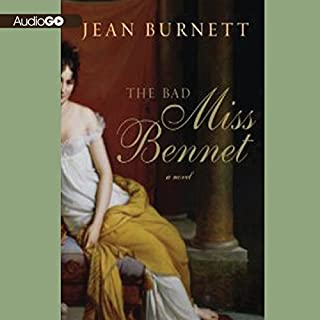 The Bad Miss Bennet audiobook cover art
