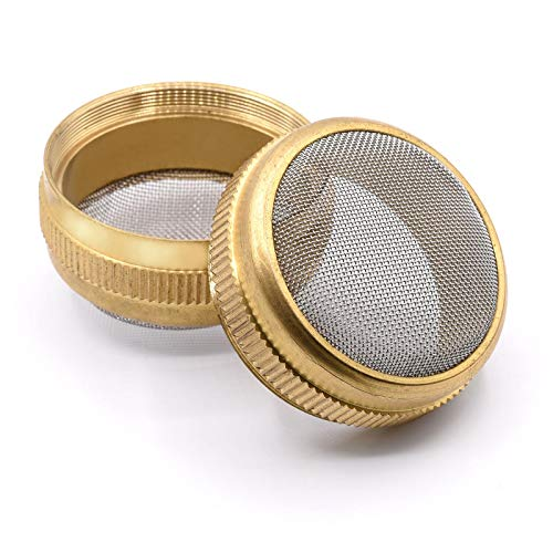 Tight Mesh Heavy Duty Brass Parts Cleaning Basket