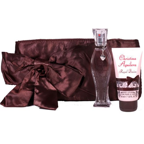Christina Aguilera Royal Desire Eau de Parfum Set 30 ml Body Lotion 50ml