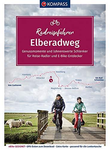 KOMPASS RadReiseFührer Erlebnis Elberadweg: von Cuxhaven bis Bad Schandau - 862 km, mit Extra-Tourenkarte, Reiseführer und exakter Streckenbeschreibung (KOMPASS-Fahrradführer, Band 6911)