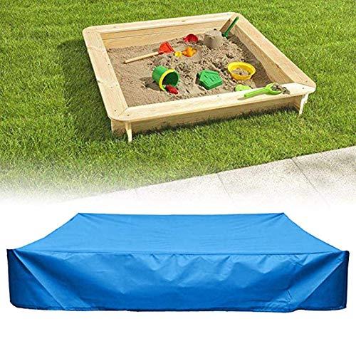 Sandbox copertura quadrata impermeabile sabbia pozzo copertura antipolvere 120 x 120 cm copertura impermeabile sabbia pozzetto copertura antipolvere con coulisse