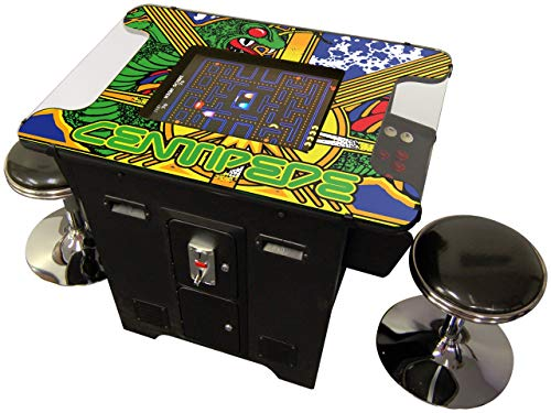 Prime Arcades, LLC 60 Games in 1 Cocktai Arcade Machine Includes 2 Stools 5 Year Warranty