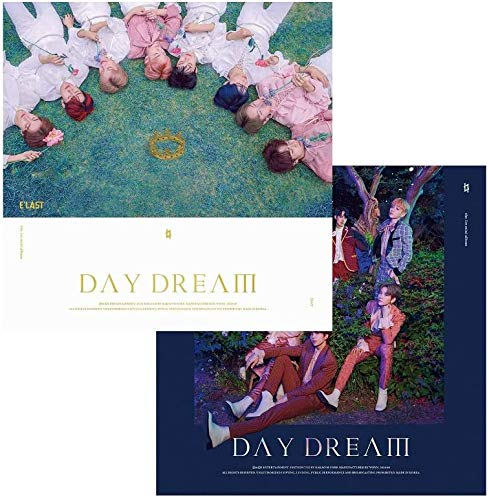 E'LAST [DAY DREAM] 1st Mini Album 2 VER SET 2 CD+2 Fotobuch+8 Lyrics+10 Karte+4 Sticker+TRACKING CODE K-POP SEALED