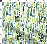 Streifen, grün, petrol, abstrakt, Streifen, bunt,