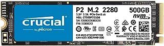 Crucial クルーシャル P2シリーズ 500GB 3D NAND NVMe PCIe M.2 SSD CT500P2SSD8【5年保証】 [並行輸入品]